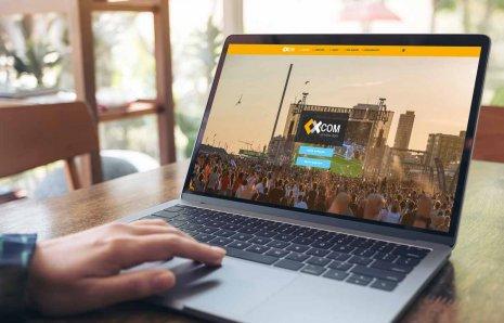 Création de site web pour la vente et location d'écrans géants